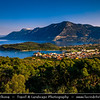 Southern Europe - Greece - Peloponnese peninsula - Palaia Epidavros - Archaia Epidauros - Small historal town & ancient city of Epidauros between two bays on coast of Saronic gulf