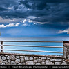 Southern Europe - Greece - Peloponnese peninsula - Mani Peninsula - Southernmost tip of mainland Greece & Europe - Dramatic stormy weather over Kalamata area