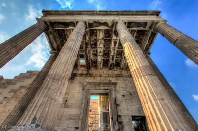 The Erechtheion, Acropolis, Athens, Greece, 2012