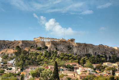 From our Window, The Acropolis, Athens, Greece, 2012