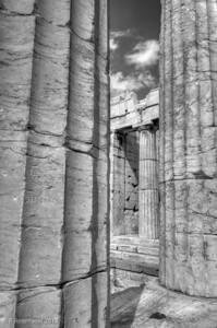 The Propylaia, the Acropolis, Athens, Greece, 2012
