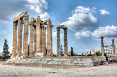 Temple of Zeus, Athens, Greece, 2012