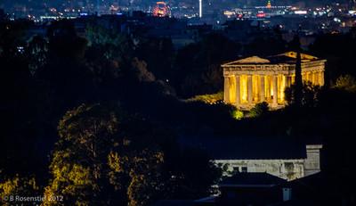 Temple of Hephaestus, Athens, Greece, 2012