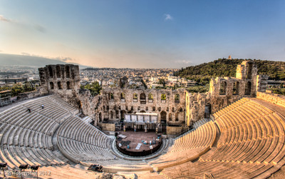 Odeon of Herodes Atticus, Athens, Greece, 2012