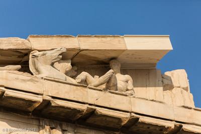 The Parthenon, Acropolis, Athens, Greece, 2012