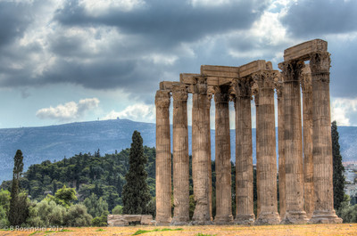 Temple of Zeus, Athens, Greece, 2012