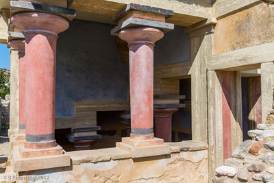 Knossos, Crete, Greece, 2012