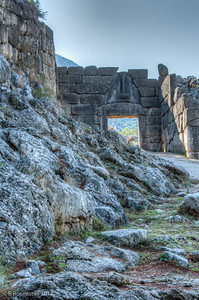Lions Gate, Mycenae, Greece, 2012