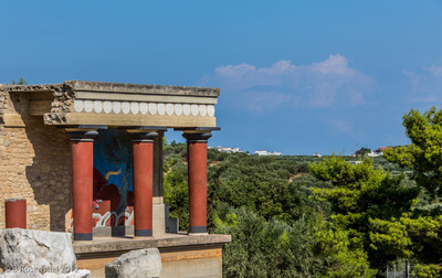 Minoan Palace, Knossos, Crete, Greece, 2012