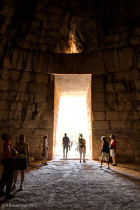 Tomb of Agamemnon, Mycenae, Greece, 2012
