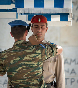 Changing of the Guard, Athens, Greece, 2012