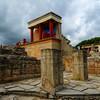 Knossos palace - evidence of bull worship