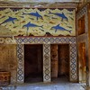 Knossos palace - Queens room dolphin fresco