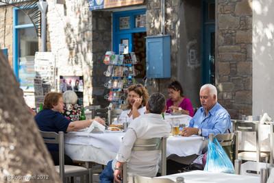 Brunch, Myrina, Lemnos, Greece, 2012