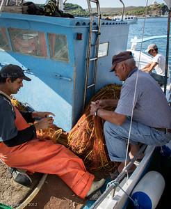 Fishing, Myrina, Lemnos, Greece, 2012