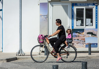 Bicycle for Two, Myrina, Lemnos, Greece, 2012