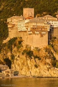 Dionysiou Monastery, Mt Athos, Greece, 2012