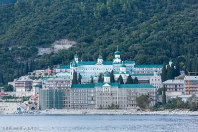 Russian Monastery, Mt Athos, Greece, 2012