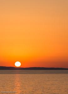 Sunset, Mt Athos, Greece, 2012