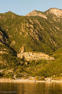 Monastery of Agios Pavlos, Mt Athos, Greece, 2012
