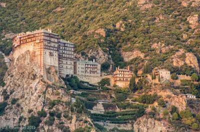 Monastery of Simonos Petras, Mt Athos, Greece, 2012