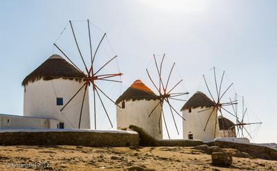 Windmills, Mykonos, Greece, 2012