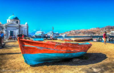 Beached, Mykonos, Greece, 2012