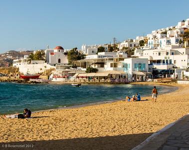 Town Beach, Mykonos, Greece, 2012
