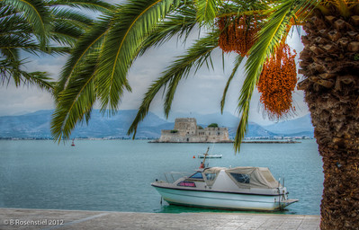 Bourtzi Castle, Nafplion, Greece, 2012