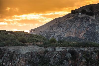 Sunrise, Nafplion, Greece, 2012