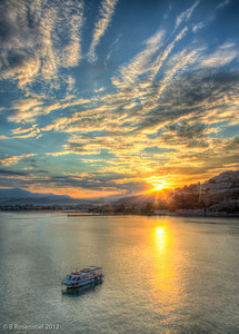 Sunrise, Nafplion, Greece, 2012