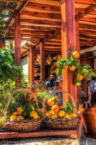 Fruit Basket, Rethymnon, Crete, Greece, 2012