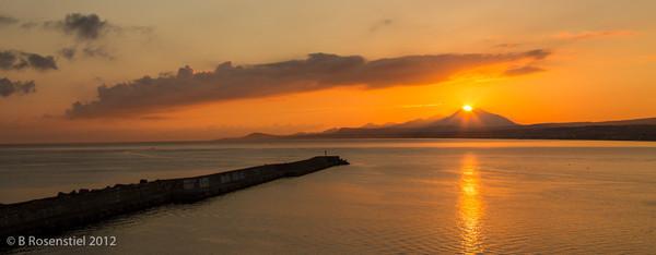 Sunrise, Rethymnon, Crete, Greece, 2012