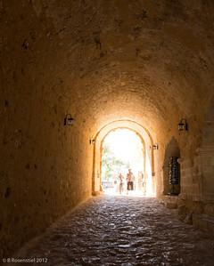 Fortress of Fortezza, Rethymnon, Crete, Greece, 2012