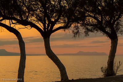Sunset, Rethymnon, Crete, Greece, 2012