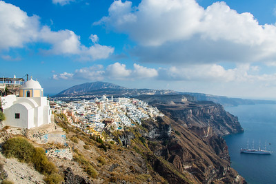 Fira, Santorini, Greece, 2012
