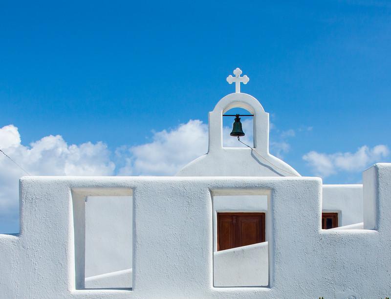 Pyrgos, Santorini, Greece, 2012