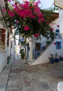 Colorful Skiathos, Greece, 2012
