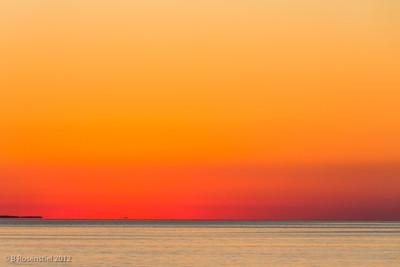 Sunrise, Skiathos, Greece, 2012