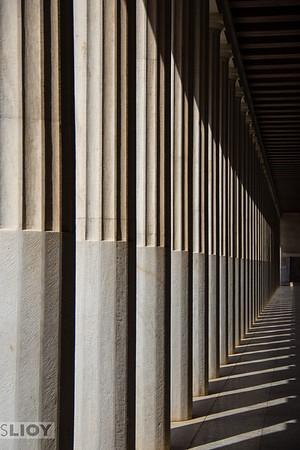 Ancient Agora Museum.<br /> <br /> Athens, Greece