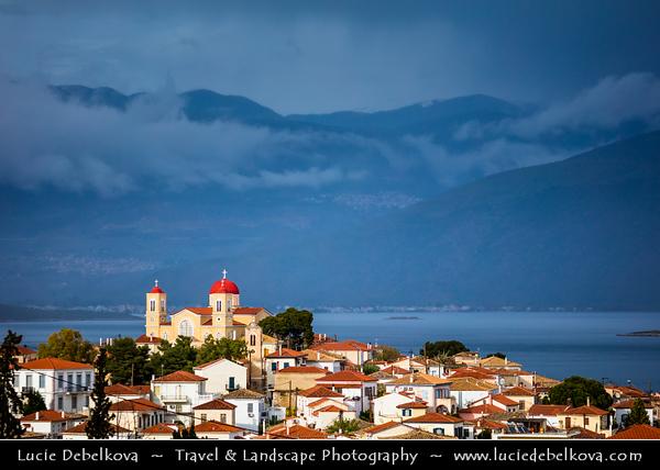 Southern Europe - Greece - Galaxidi - Galaxeidi - Coastal town & small harbor on north coast of Gulf of Corinth