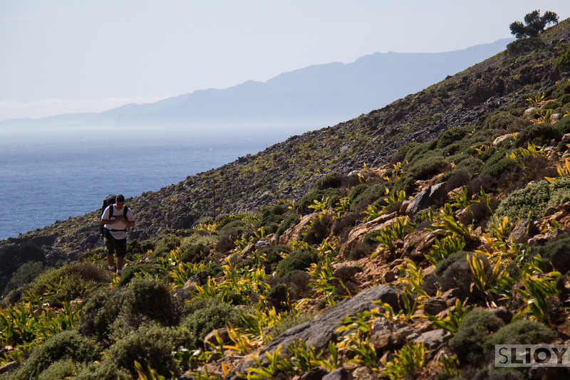 HIking the E4 trail.<br /> <br /> Crete, Greece