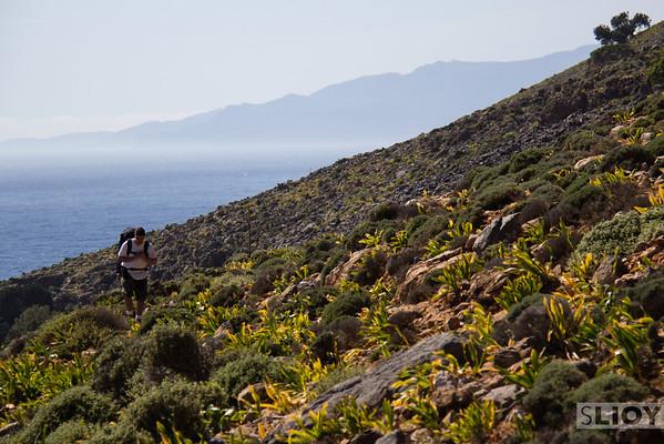 HIking the E4 trail.<br /> <br /> Crete, Greece