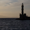 Chania harbor.<br /> <br /> Crete, Greece
