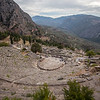 Coliseum of the Greek city of Delphi in Northern Greece.