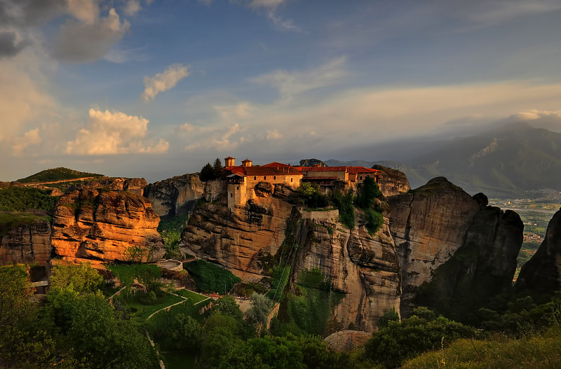 St Stepehen's Monastery at sunset