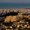 Acropolis at sunrise.<br /> <br /> Athens, Greece