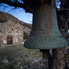 Ruined church at Lissos.<br /> <br /> Crete, Greece