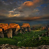 Sunrise in Meteora