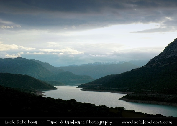 Greece - Lake Mornou & Surrounding areas